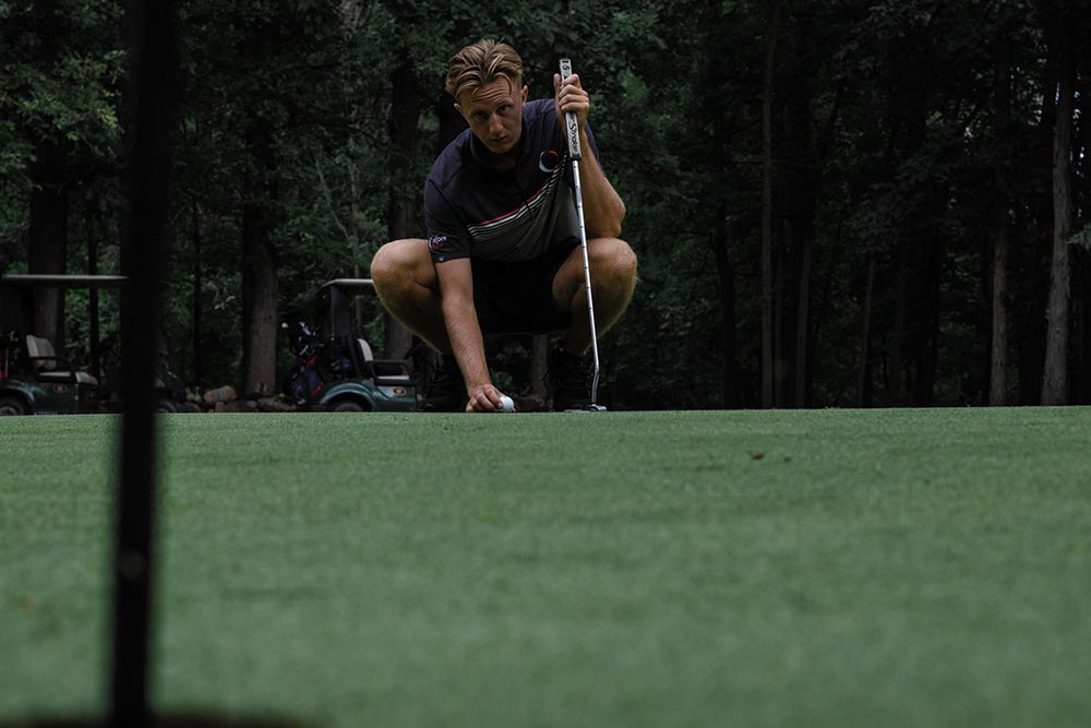 Reading the putt
